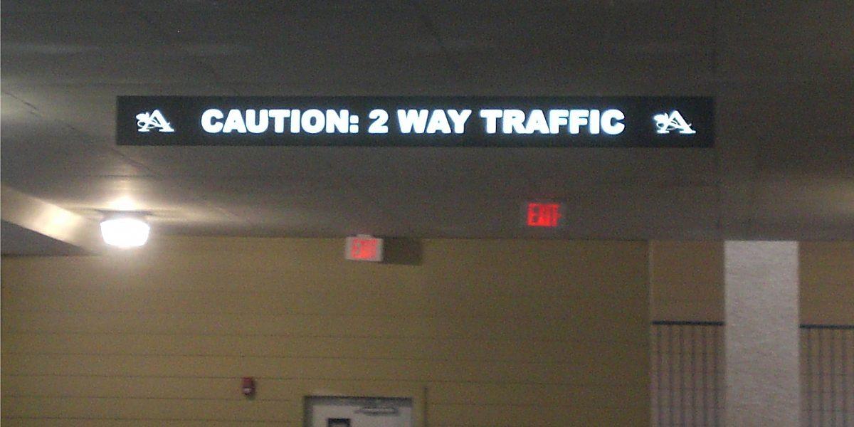 Exterior Parking Garage Signs 2 jpg