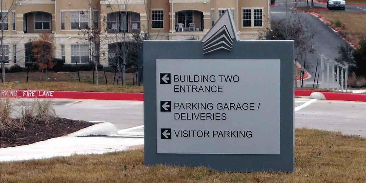 Exterior Wayfinding Signs 2