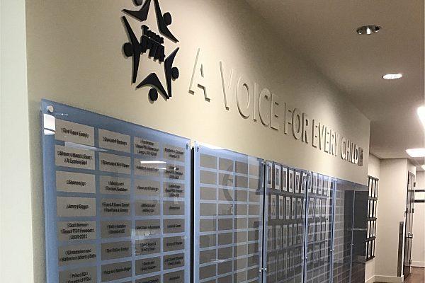 Custom Donor Award Walls 15