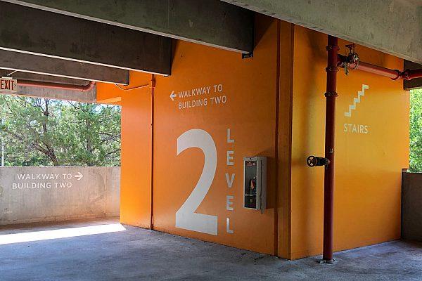 Exterior Parking Garage Sign 102