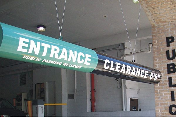Exterior Parking Garage Signs 1 jpg